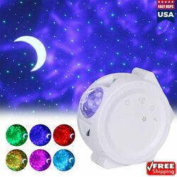 USB Bluetooth LED Starry Light Sky Galaxy Projector Ocean Wave Star Night Lamp $29.99