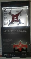 ✔Red Propel Air Micro Mini Pocket Drone🛩 RC Micro Quadrocopter 3 Speed USB✔ $20.00