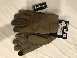 Army Air Force Coyote Gloves Touch Screen Size XL New With Tags $28.00