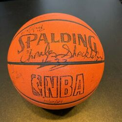 1989 90 New Jersey Nets Team Signed Spalding NBA Official Game Basketball $299.00