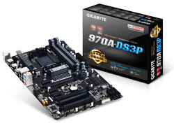 Gigabyte GA 970A DS3P AM3 AMD Motherboard New Unopened $99.00