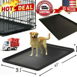 Pet Dog Crate Replacement Pan 47 Inch Plastic Liner Repl Tray Floor Cage Kennel $30.99