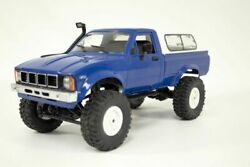 1 16th Scale IMEX Toyota Hilux Pickup 4WD Scale RC Blue RTR FREE US SHIP $59.95