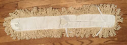 Commercial White Keyhole Tufted Mop 3 x 36 New