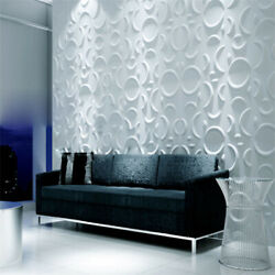 12Pcs 3D Wall Panel Wall Decoration Ceiling Tiles Wallpaper Background Sticker $32.00
