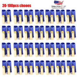 20 100Pcs EC5 Device Connector Plug for RC Car Plane Helicopter Battery Lipo Lot $35.05