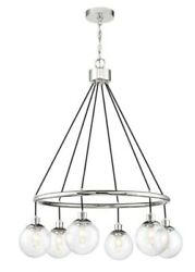 Craftmade Lighting Que Six Light Chandelier Chrome Finish with $240.55
