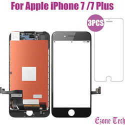 For iPhone 7 7Plus LCD Touch Screen Replacement Protector Tempered Glass Tools $24.55