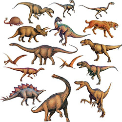 Dinosaurs RoomMates Vinyl Wall Bedroom 16 Removable Decal Stickers RMK1043SCS $12.99