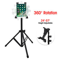 Height Adjustable Floor Tablet Tripod Stand With Rotating Holder for iPad 1 2 3 $19.96