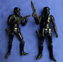 Star Wars The Black Series IMPERIAL DEATH TROOPER #25 6quot; Set of TWO 2 COMPLETE $40.00