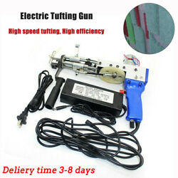 Electric Tufting Gun Loop Pile Carpet Weaving Flocking Machine 10000r min NEW $156.99