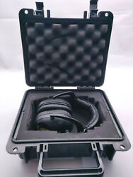 Brownells Electronic Ear Muffs amp; Molded Dry Box Carrying Case Safety $49.99