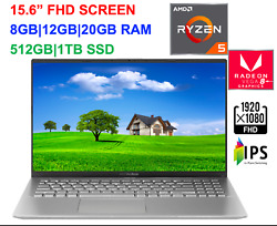 2020 ASUS 15.6quot; FHD VivoBook AMD Ryzen 5 3500UUp to 3.7 GHz 20GB RAM amp;1TB SSD $568.99
