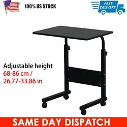 Movable Computer Desk Adjustable PC Table Study Home Office Work Station Small $42.93
