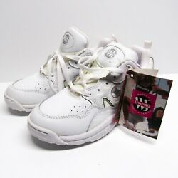 Vintage 90s Spalding White Tennis Shoes Sneakers Womens 7 NWT 1997 Workout $29.99