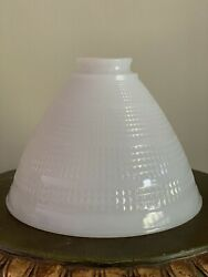 Vintage Rembrandt Glass Lamp Diffuser Table Floor Shade Replacement 8quot; $55.00