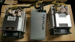 TWO Bitmain Antminer Z9 Mini s WITH Power Suppy $215.00