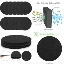 12 Pack Compost Bin Filters Extra Thick Activated Carbon Kitchen Compost Filters $24.01
