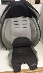 Evenflo Maestro 2015 Booster Gray Car Seat Fabric Cover Cushion Padding $25.00