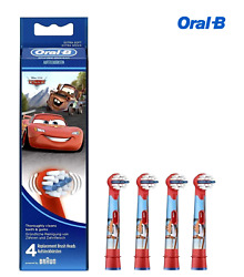 Oral B Stages Power Kids Replacement Brush Heads Disney Cars Pack of 4 $14.99