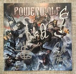 Powerwolf Best Of The Blessed 2 CD Signed by all 5 band members NEW Import $51.97