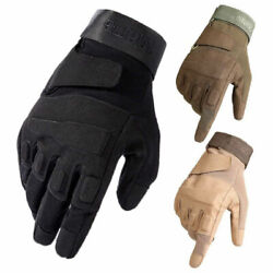 Army Combat Gloves Full Finger Airsoft Hunting Military Tactical Gloves $14.99