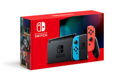 Nintendo Switch w Neon Blue amp; Red Joy‑Con Grey 32GB Newest Model NEW FAST SHIP $374.85