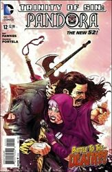 TRINITY OF SIN PANDORA #12 OF 14 AUGUST 2014 DC NEW 52 NM COMIC BOOK 1 $1.00