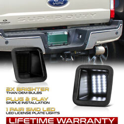 SMD LED License Plate Light Lamp Fit For 2017 2019 Ford F250 F350 Super Duty $15.99