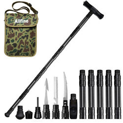 Survival Hiking Stick Trekking Pole Travel cane Outdoor Multifunctional Tools $67.00