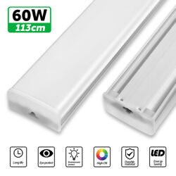 30W 60W LED Batten Tube Ceiling Light Bar Strip Panel Lamp Office Warehouse US $61.31