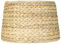Woven Seagrass Drum Shade 10x12x8.25 Spider $29.99