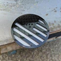 American Flag Badge Pair Jeep® Trail Rated® Replacement Badge Black on Gray $50.00