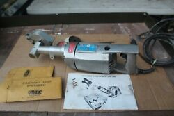 Kett Tool Co. Model KS 23AM Commercial Panel Saw5.5a Blades Hdwe. Complete