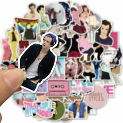 50Pcs Lot Singer Harry Styles One direction Cute Vinyl Stickers Skateboard Decal $4.99