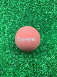 Supreme Sky Bounce Ball Red SS16 Box Logo $24.99