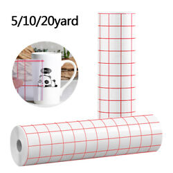 15 30 60FT Adhesive Vinyl Transfer Tape for Cricut Silhouette Decal Sign Sticker $20.98