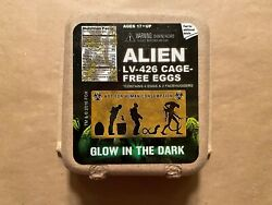 Neca Alien Loot Crate Glow In The Dark LV 426 Cage Free Eggs 4 Pack $39.99