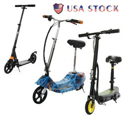 Kick Scooter Foldable Scooter For Adult Kids Portable Ride Adjustable Height New $65.89
