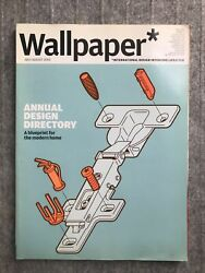 Wallpaper Magazine Issue 80 July Aug 2005 $3.99