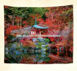 wall beach towel Shingon Buddhist temple Daigo ji hanging tapestry $19.69
