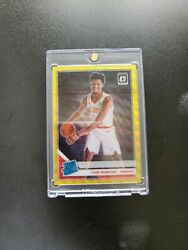 2019 20 Optic Cam Reddish Gold 10 Prizm Wave Rated Rookie Card YM022 226 $699.00