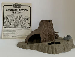 Vintage Star Wars Dagobah Action Playset 1981 Near Complete w Instructions Nice $60.00