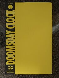 Doomsday Clock #12 12 Of 12 Yellow Sketch Variant Cover Clark 2017 $9.50