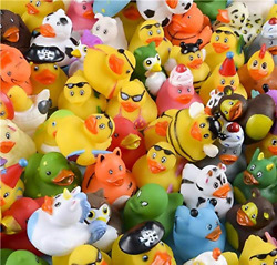 Rhode Island Novelty Assorted Rubber Ducks Set of 100 $43.82