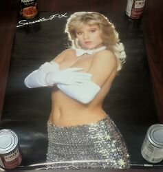Samantha Fox 🦊 gloves poster $49.99
