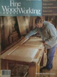 Taunton#x27;s Fine Woodworking Magazine July Aug 1988 71 Period Doors Wooden Lamps $12.00