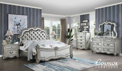 Cosmos Furniture Melrose King Bedroom Contemporary Set for a total of 6 pieces $3499.00