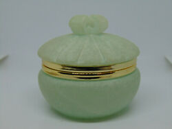 Alabaster Trinket Box Hand Carved Made in Italy $9.99